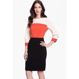 Kate Spade Parker Colorblock Sheath Dress
